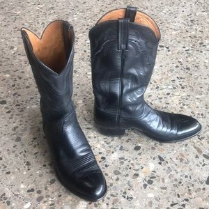 MEN'S Lucchese 2000 Lone-Star Calf Cowboy Boots